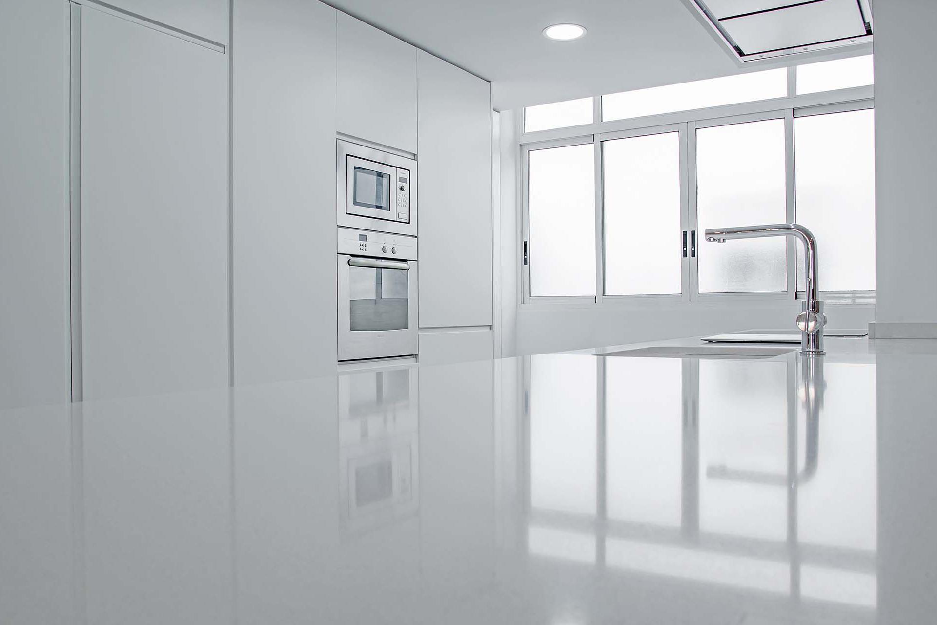 Cocina Blanca | HB Estudi d'Arquitectura